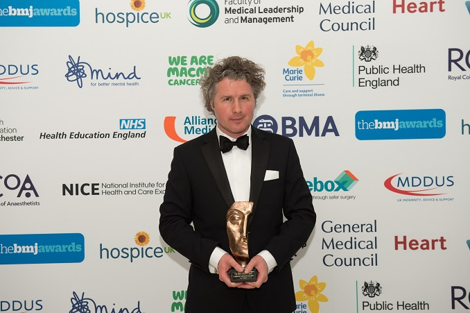 Outstanding Contribution to Health Ben Goldacre